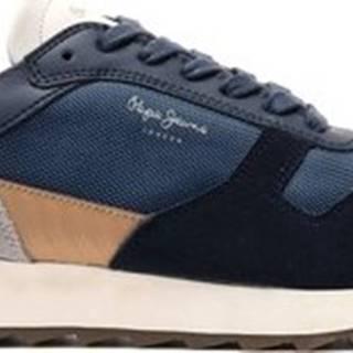 Pepe jeans Tenisky PMS30611 Modrá