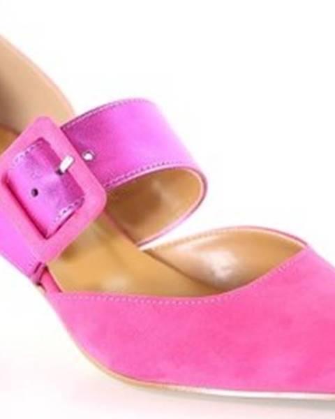 Růžové boty Grace Shoes