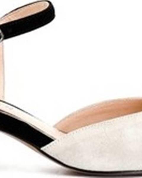 Béžové sandály Cafe Noir