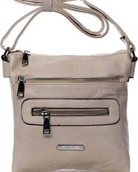 Béžová kabelka Romina Co. Bags