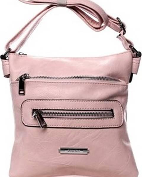 Růžová kabelka Romina Co. Bags