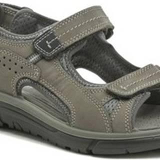 Imac Sportovní sandály I2694e31 šedé pánské sandály