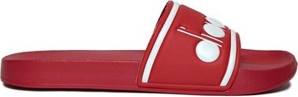 Diadora Diadora pantofle 501175758 Červená