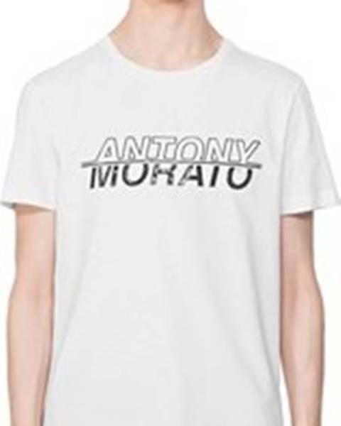 Bílé tričko Antony Morato