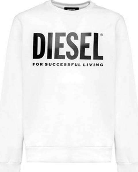Bílá mikina Diesel