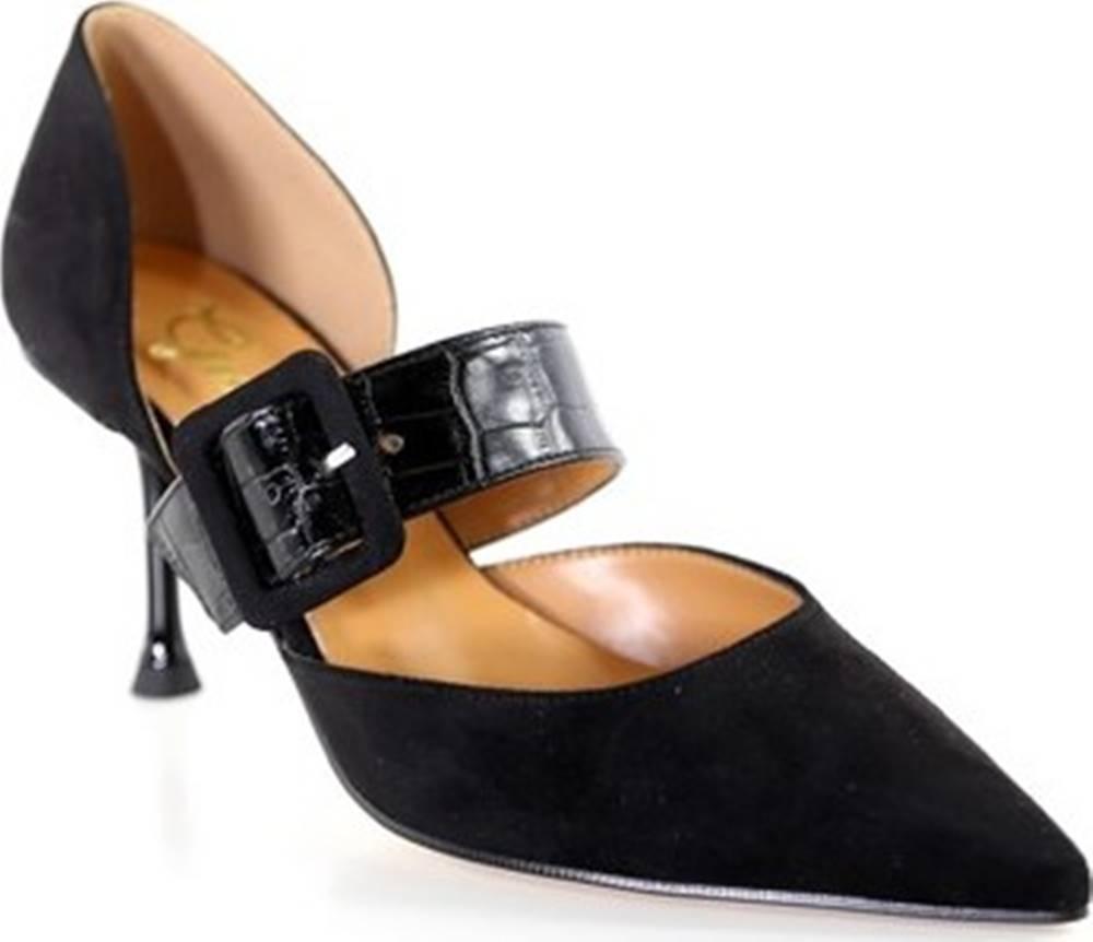 Grace Shoes Grace Shoes Lodičky 772014 Černá