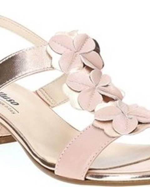 Růžové sandály Melluso