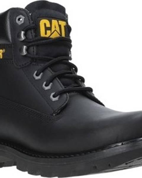 Černé boty Caterpillar