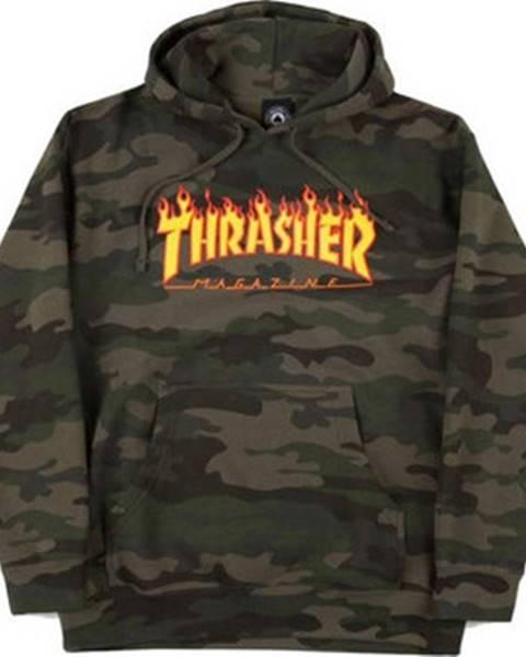 Zelená mikina Thrasher