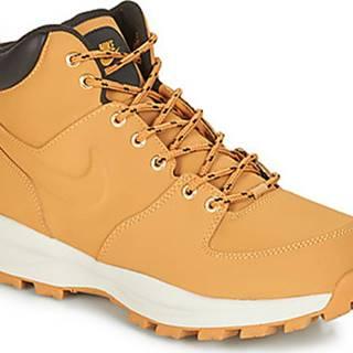 Nike Kotníkové boty MANOA LEATHER BOOT Hnědá