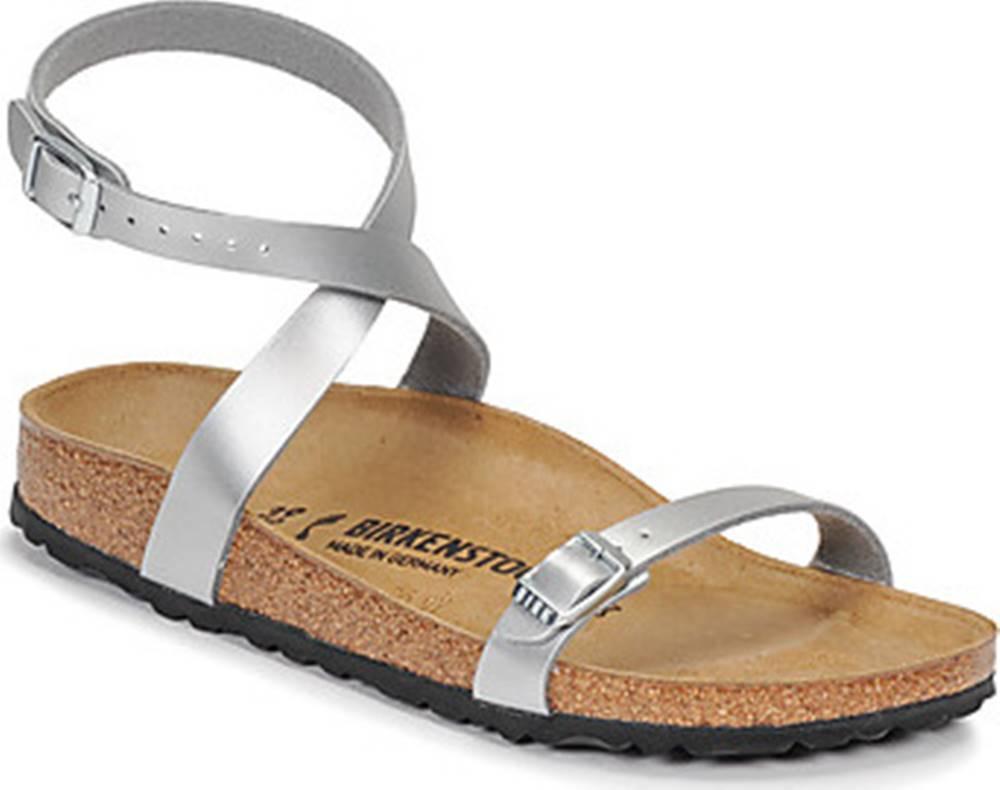 Birkenstock Birkenstock Sandály DALOA Stříbrná