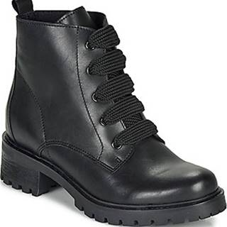 André Kotníkové boty ELISE Černá