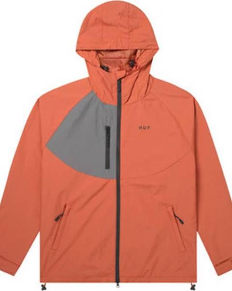 Oranžová bunda HUF