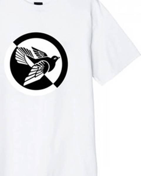 Bílé tričko Obey