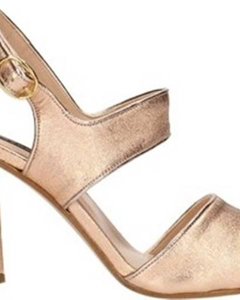 Růžové sandály Bacta De Toi