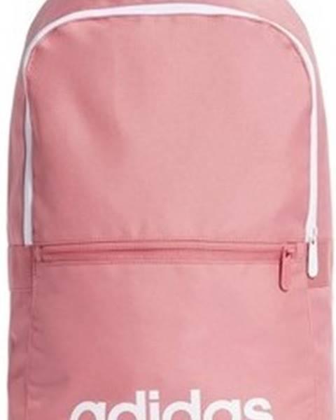 Růžový batoh adidas