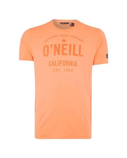 Oranžové tričko o'neill