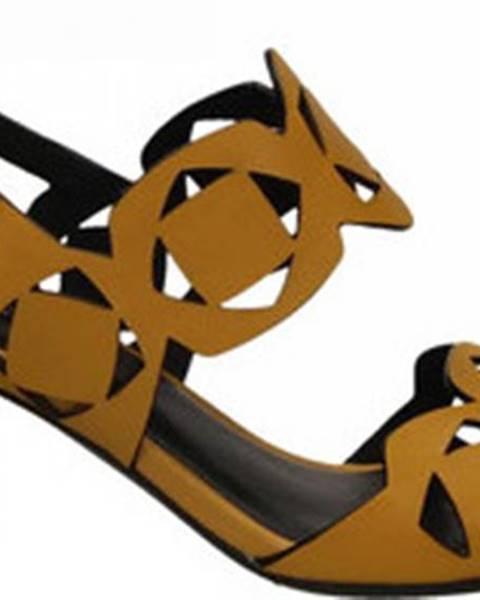 Žluté sandály Bruno Premi