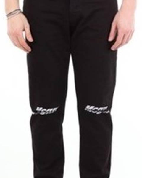 Černé kalhoty Msgm