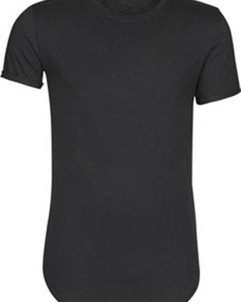 Černé tričko Casual Attitude