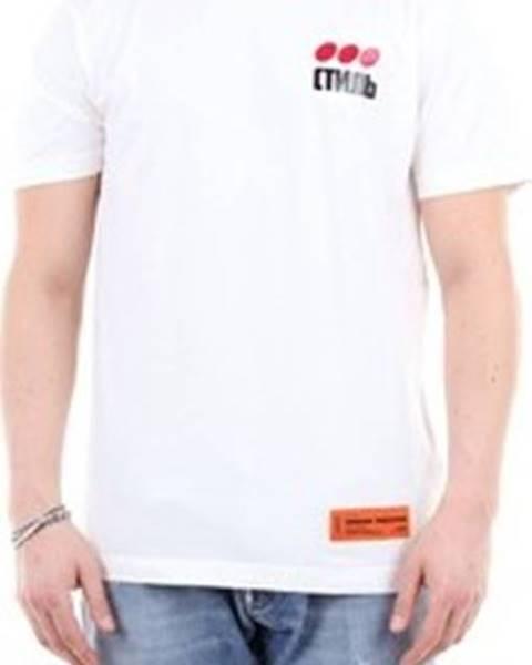 Bílé tričko Heron Preston