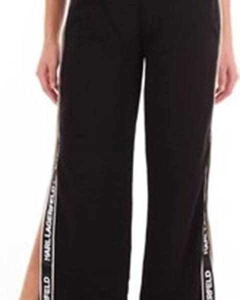 Černé kalhoty karl lagerfeld