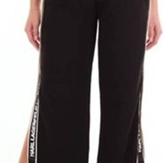 Karl Lagerfeld Ležérní kalhoty 86KW1002 Černá