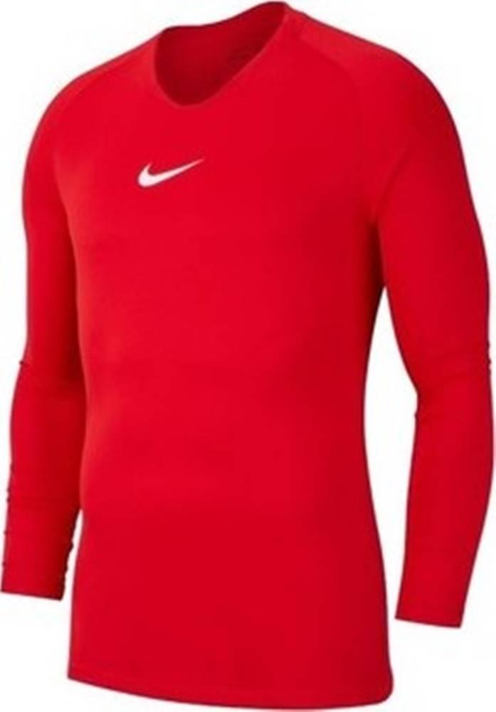 nike Nike Trička s dlouhými rukávy Dry Park First Layer Červená