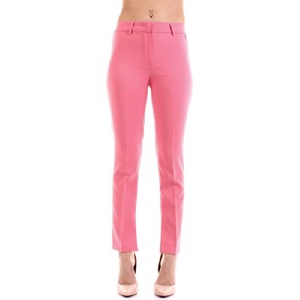 Relish Relish Oblekové kalhoty CISAL Růžová