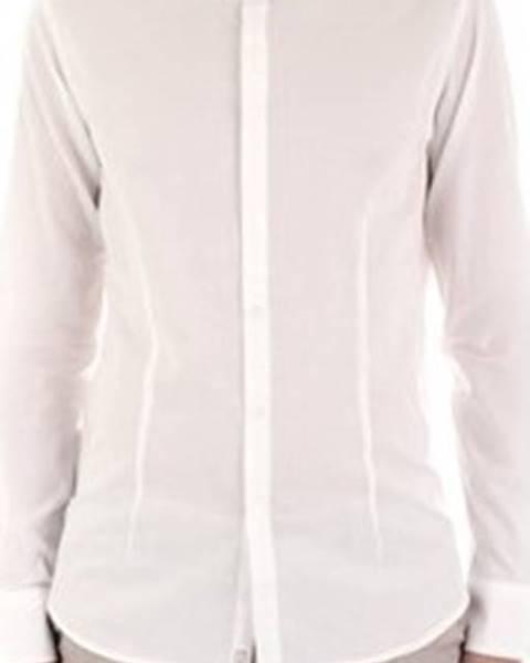 Bílá košile Bicolore