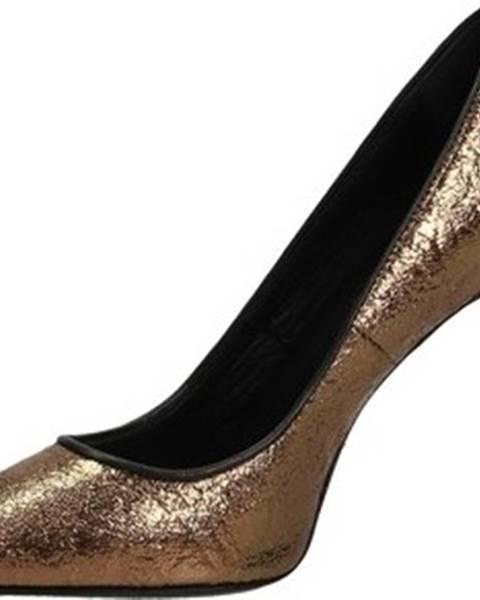 Zlaté boty Patrizia Pepe