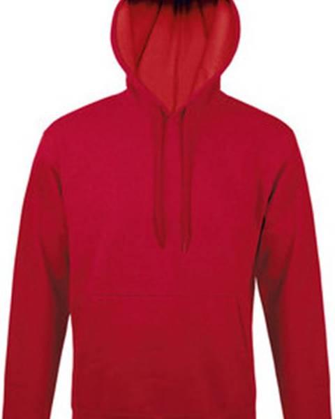 Červená mikina Sols