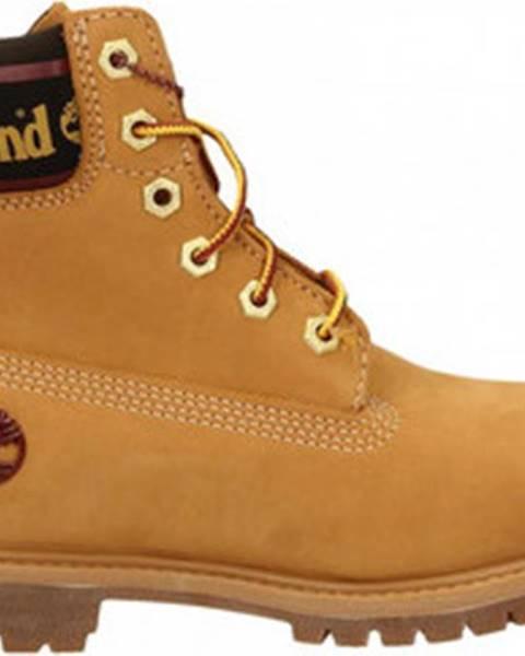 Žluté boty Timberland
