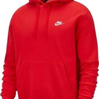 Nike Mikiny M Nsw Club Hoodie PO BB Červená