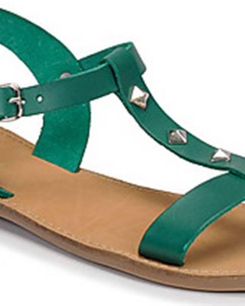 Zelené sandály André