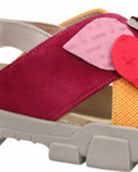Jiná barva sandály L4k3