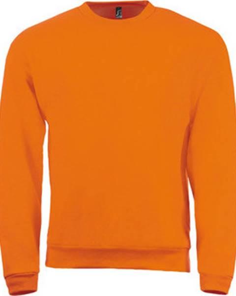 Oranžová mikina Sols