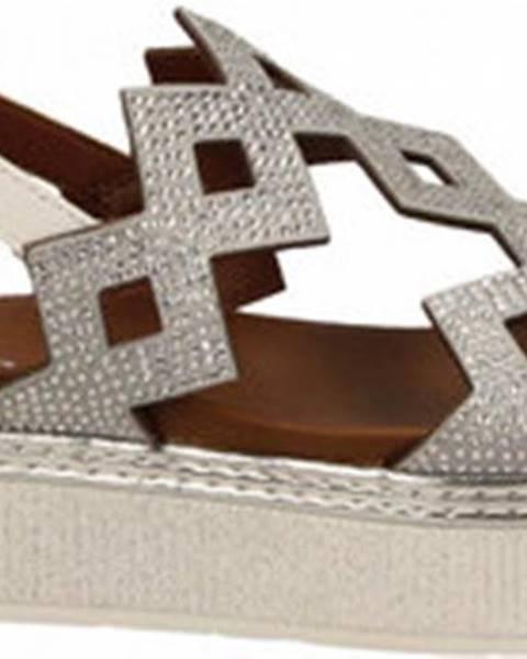 Bílé sandály Cafe Noir