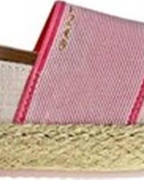 Růžové espadrilky gant