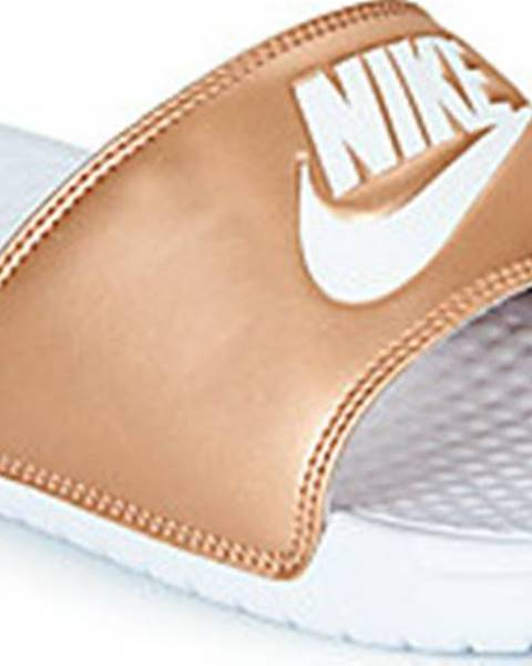 Zlaté pantofle nike