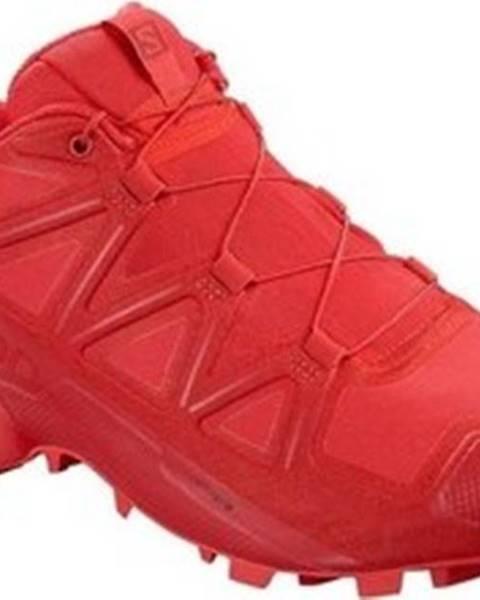 Červené boty Salomon