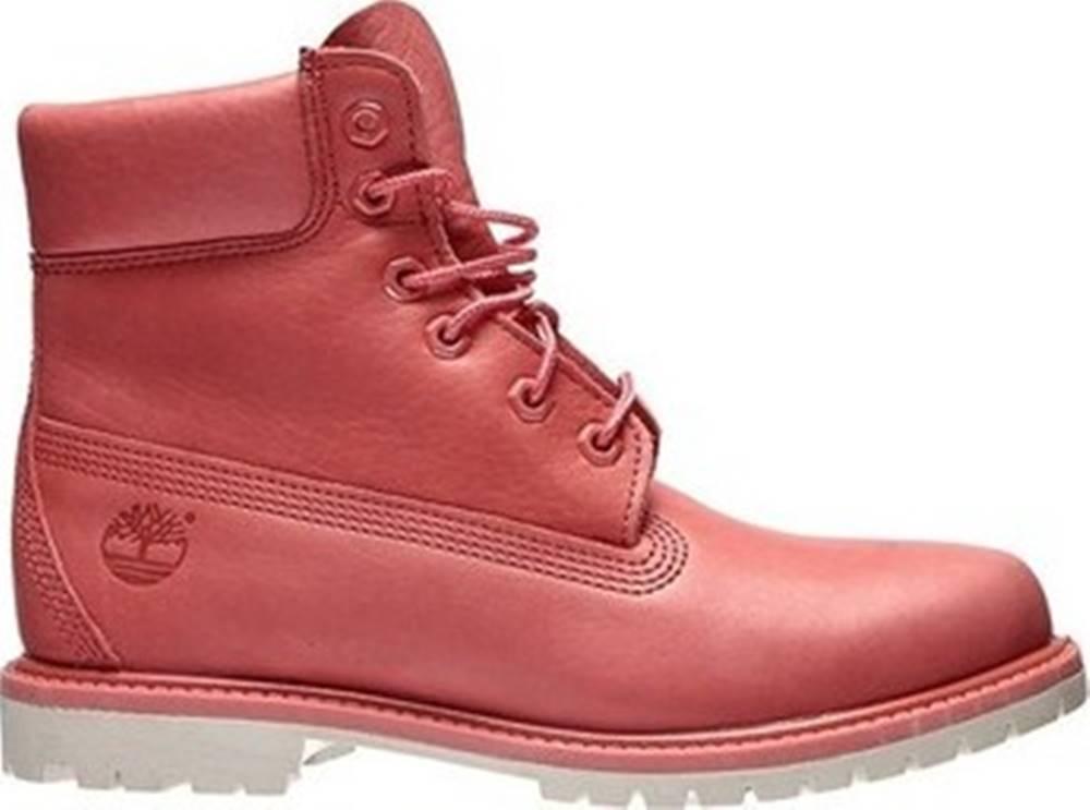Timberland Timberland Kotníkové boty 6 Inch Premium Růžová