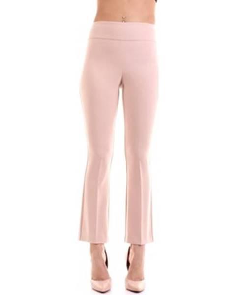 Růžové kalhoty Sandro Ferrone