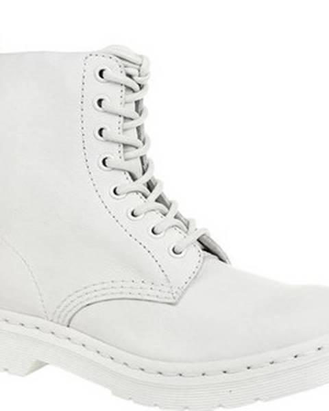 Bílé boty Dr Martens