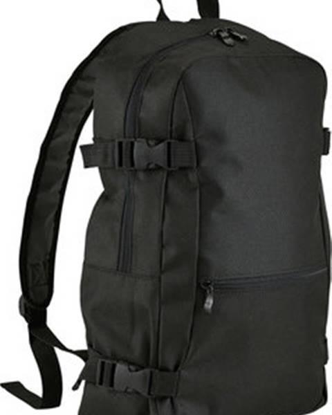 Černý batoh Sols