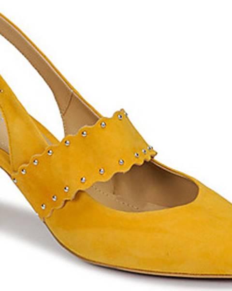 Žluté boty Perlato