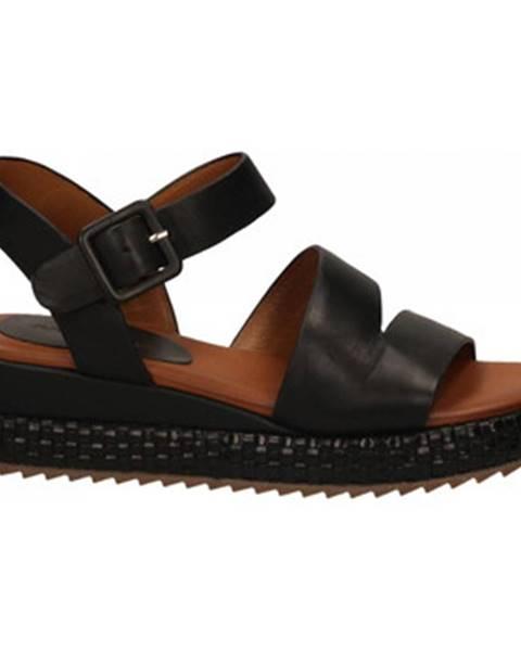 Černé sandály Rahya Grey