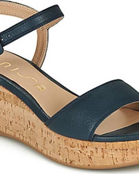 Modré sandály Unisa