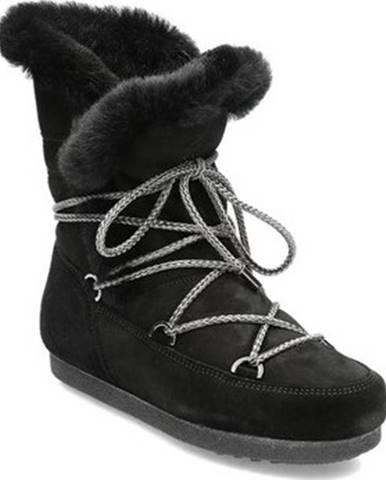 Moon Boot Zimní boty Far Side High Shearling Černá