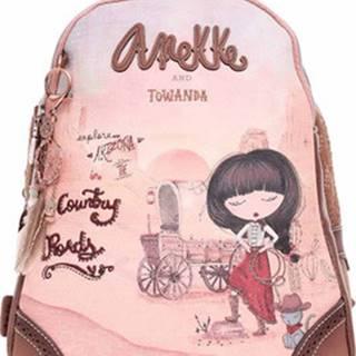 Anekke Batohy dámský batoh 30705-44 Růžová